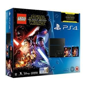 PlayStation 4 500GB Console with LEGO Star Wars: The Force Awakens