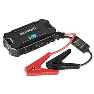Suaoki D21 Car Jump Starter Battery 15000mAh 500A 12V with Intelligent Clamps,