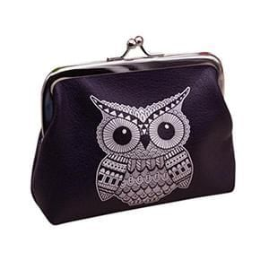 Koly Women's Lady Owl Wallet Card Holder Coin Purse