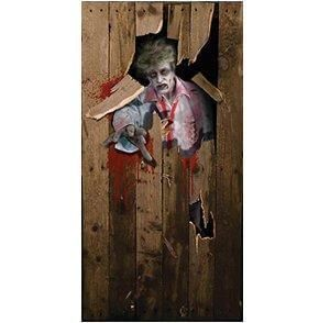 Halloween Door Poster 6ft X 3ft (Halloween) - Unisex - 6ft X 3ft from