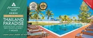 Unlimited All-Inclusive Anantara Luxury in Thailand, near Krabi. Save 51%