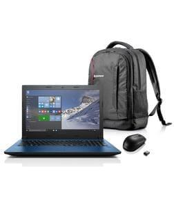Lenovo 15.6 Inch Intel Ci3 8GB 2TB Laptop plus Bag and Mouse