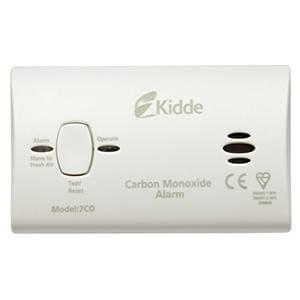 Kidde 7COC Carbon Monoxide Alarm 10 Year Sensor and Warranty from