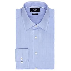 Hackett London Prince of Wales Tailored Check Shirt, Blue