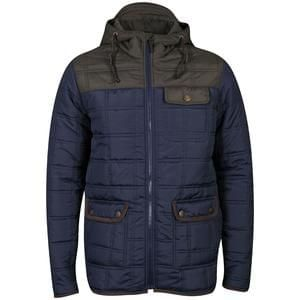 Brave Soul Men's Swansea Padded Jacket  Free Delivery
