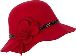 Sakkas Gloria Vintage Style Wool Cloche Hat £24.99 at Amazon