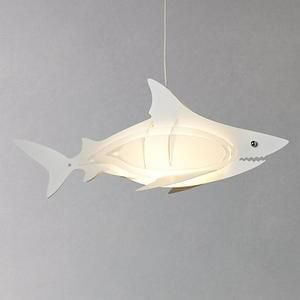 John Lewis Easy-to-fit Shark Ceiling Pendant Shade