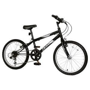"Brand new Terrain Hallam 20"" Kids Mountain Bike Black - Perfect for Christmas!"
