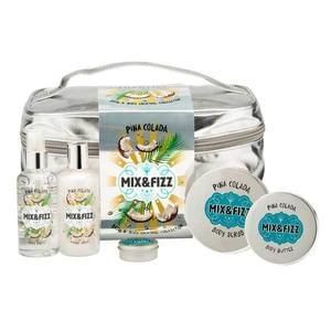 Better than half price - Mix & Fizz Pina Colada Bath & Body Vanity Case Gift Set