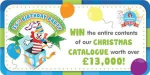 Win £13,000 of toys from The Entertainer!