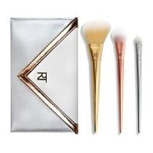 Real Techniques Bold Metals Essentials with clutch bag