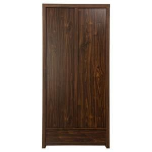 *Bargain* Tribeca Double Wardrobe with Drawer, Walnut