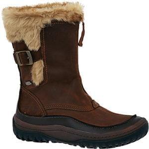 MERRELL Brown Decora Motif Winter Calf Boots size 7 UK women