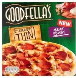 Goodfella's Stonebaked Thin Pizzas Half Price @ ASDA