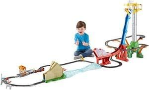 Thomas Sky-High Bridge Jump Train Set. £20 Off & Free Del.