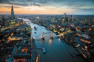 View London from The Shard + Posh Lunch or Dinner for Two