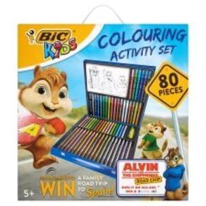 Wow Bic Kids 80-Piece Colouring Activity Set