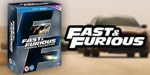 Win a Blu-ray box set containing all 7 films from the Fast and Furious