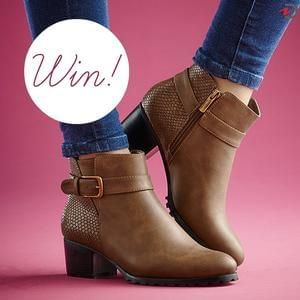 Win a Pair of Boots from Damart