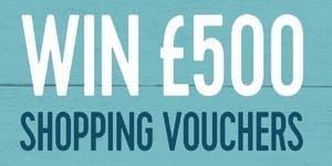 £500 Shopping vouchers
