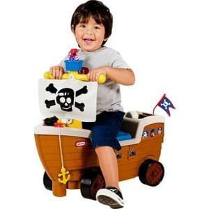 Little Tikes Play 'n' Scoot Pirate Ship Playset - BETTER THAN HALF PRICE!!!