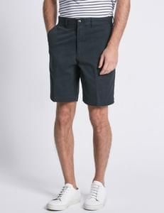 Pure Cotton Tailored Fit Chino Shorts @ M&S