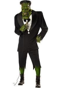 Halloween  Adult Frankenstein Costume. I love you Frank. I do. I will.