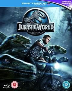 Jurassic World [Blu-ray] + UV @amazon £5.75 Prime