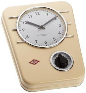 Discount Wesco Classic Line Kitchen Clock @ Amazon