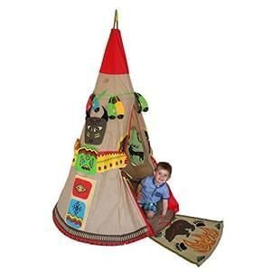 Red Indian Teepee Playset - Less Than Half Price!