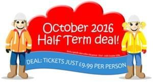 Diggerland October 2016 Half Term Deal