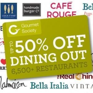 Gourmet Society Card Deals 2016: £1 for 90 Days