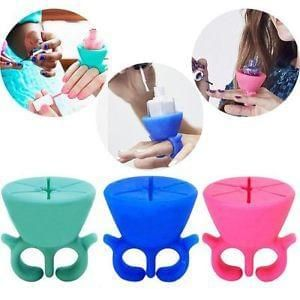 Nail Polish Holder Ring - Game Changer for Manicures! (FREE Delivery)