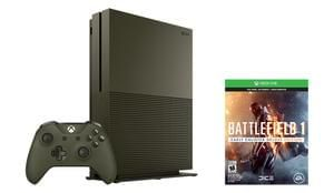 Xbox One S 500GB Battlefield 1 Bundle, Gears of War 4 & Halo 5