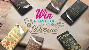 Win 1 Of 10 Divine Chocolate Tasting Sets