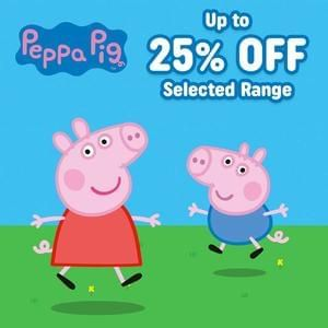 Up to 25% off selected Peppa Pig and Ben & Holly Toys at Smyths