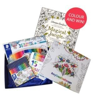 """Win amazing STAEDTLER products & Johanna Basford's book """"Magical Jungle"""""""