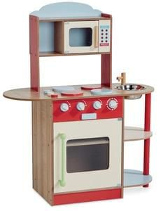 Wooden Toy Kitchen - Aldi Special Buys