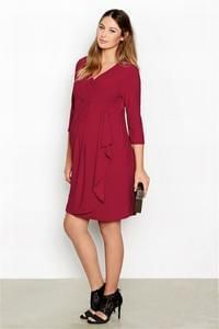 Next Clearance Sale: Berry Red Maternity Dress