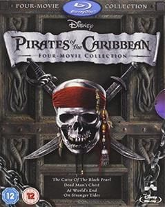 All 4 Pirates of the Caribbean - only £9.99 on Blu Ray!
