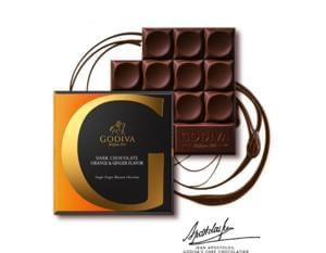 Win G by Godiva Chocolate Tablets