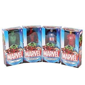 Discount Marvel Figures (Set of 4) Save £44 @ Home Bargains