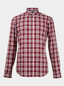 Burtons Long Sleeve Smart Checked Shirt Only £13 on Sale