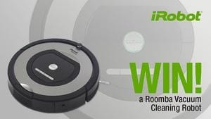 Win a Roomba Vacuum Cleaning Robot