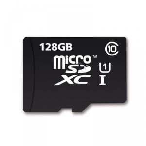 Reduced 128GB Micro SDXC Card UHS-I U1 with Adapter - 80MB/s @ Mymemory