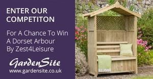Win a Dorset Arbour from GardenSite worth £199.99
