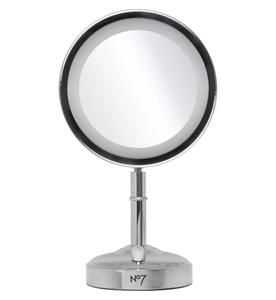 No7 Illuminated Makeup Mirror - Exclusive to Boots