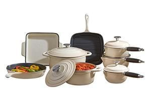 SALE! SAVE £200! Deluxe Cast Iron Cookware 8 Piece Set.