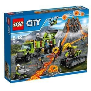 CHEAPEST PRICE £49.99 LEGO City Volcano Exploration Base 60124. Save £30