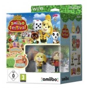 Animal Crossing: Amiibo Festival w/ Two amiibo Toys + Three amiibo Cards (Wii U)